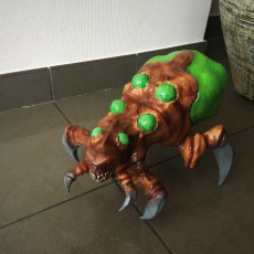Picture of print of StarCraft 2 Baneling
