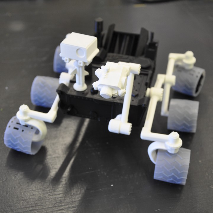 Picture of print of Curiosity Rover This print has been uploaded by 3D Happiness
