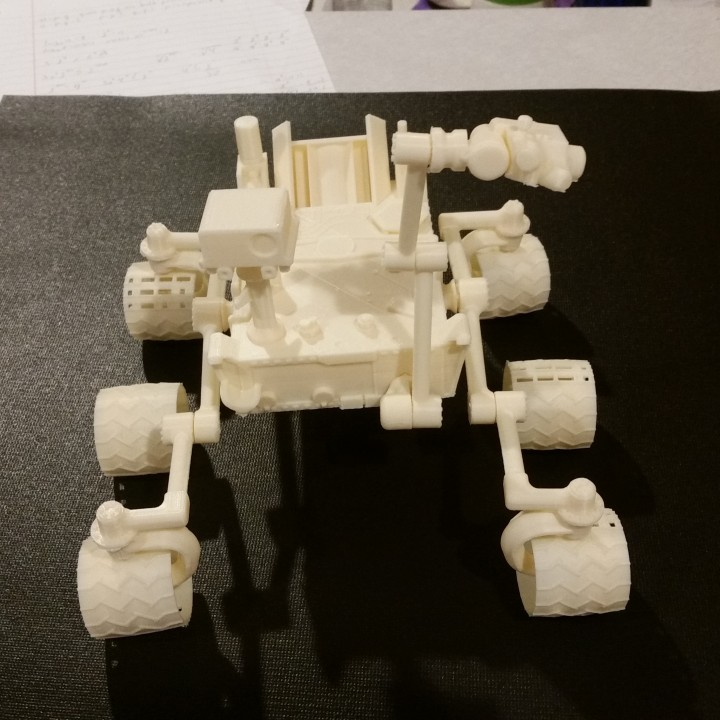 Picture of print of Curiosity Rover This print has been uploaded by Marcus Blaisdell
