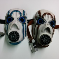 Picture of print of borderlands Psycho Wearable Mask