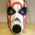 borderlands Psycho Wearable Mask print image