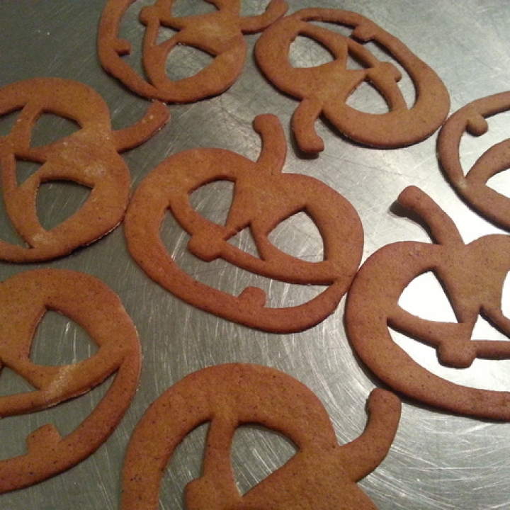 Jack-O-Lantern Halloween Cookie Cutter