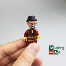 Breaking Bad Walter Lego Head!