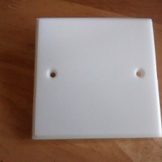 UK Electrical Faceplate