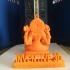 Pendant God Shiva ,Durga,& fish print image