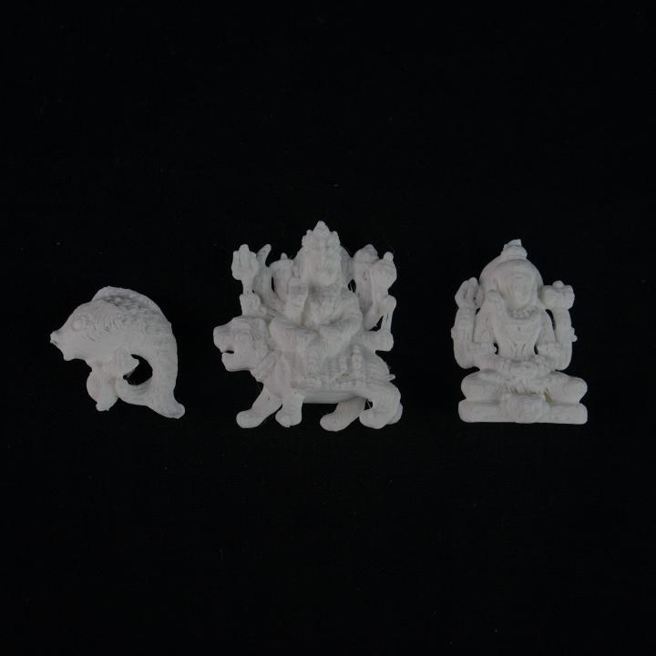 Pendant God Shiva ,Durga,& fish
