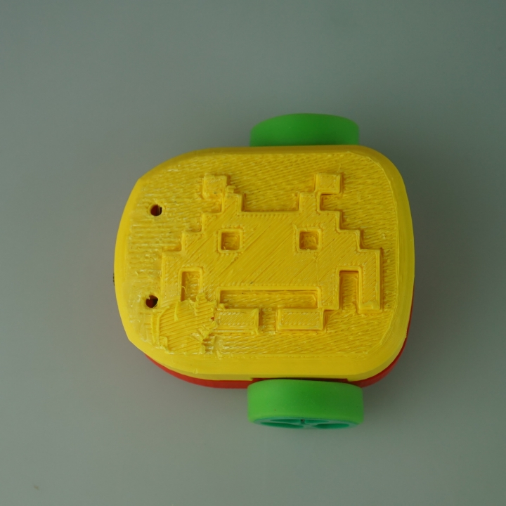 Space Invader meets Cannybots