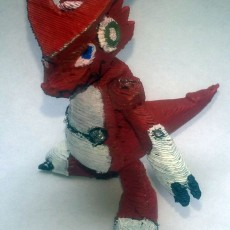 Picture of print of Shoutmon - Digimon