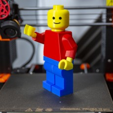 Picture of print of Blank Giant Minifig