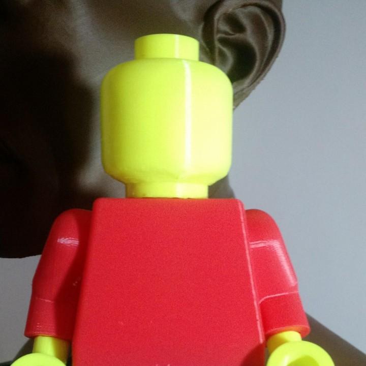 Blank Giant Minifig