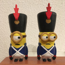 Picture of print of Minion Napaleon model