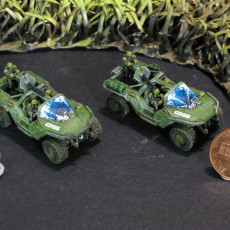 Picture of print of Halo Warthog