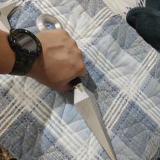 Picture of print of Naruto Kunai Knife