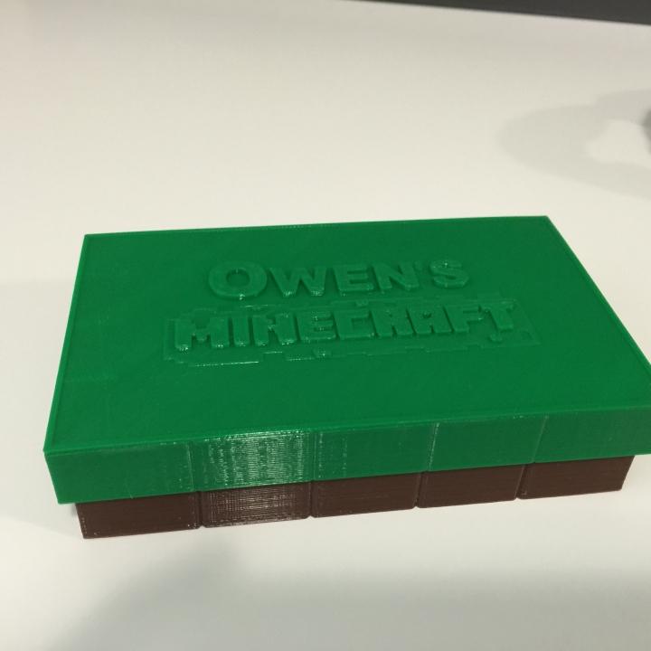 Mini Minecraft Box