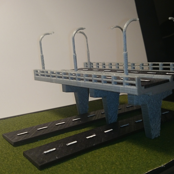 Overpass Bridge Decoration