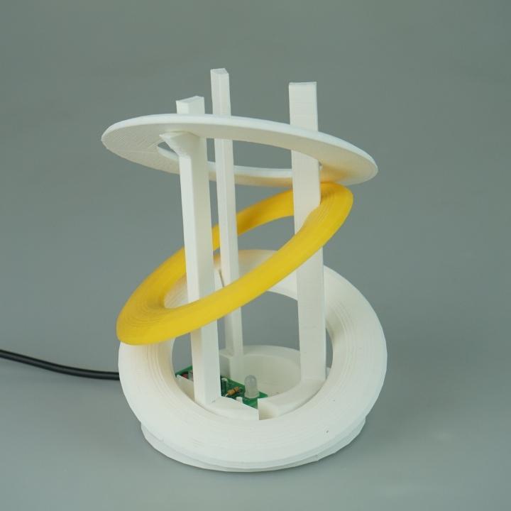 Modern Disk Lamp (USB lamp)