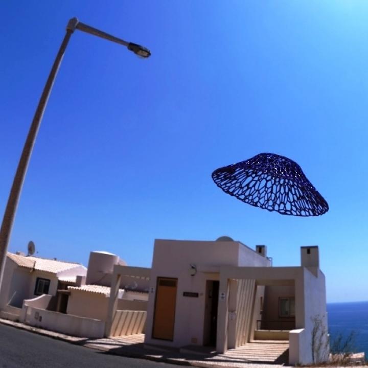 UFO :-) in Voronoi Style