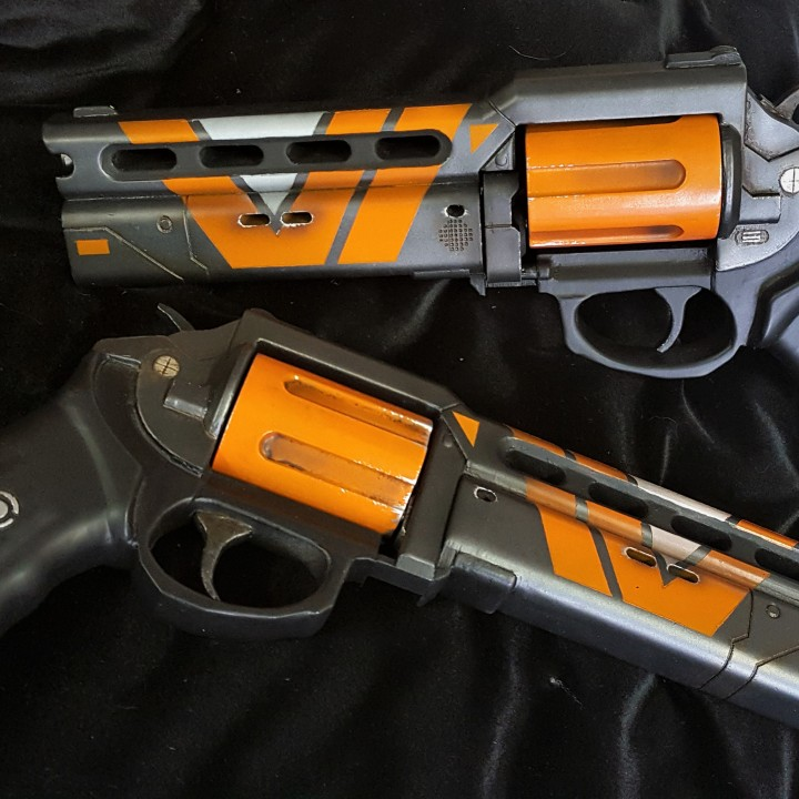 Picture of print of The Devil you Know hand cannon from Destiny This print has been uploaded by Ben Dodds