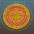 Zelda Coaster - Hylian Shield image