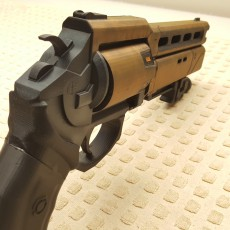 Picture of print of Fatebringer hand cannon from Destiny