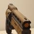 Fatebringer hand cannon from Destiny print image