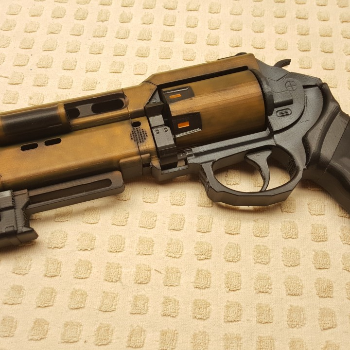 Picture of print of Fatebringer hand cannon from Destiny This print has been uploaded by Spectra3D Technologies