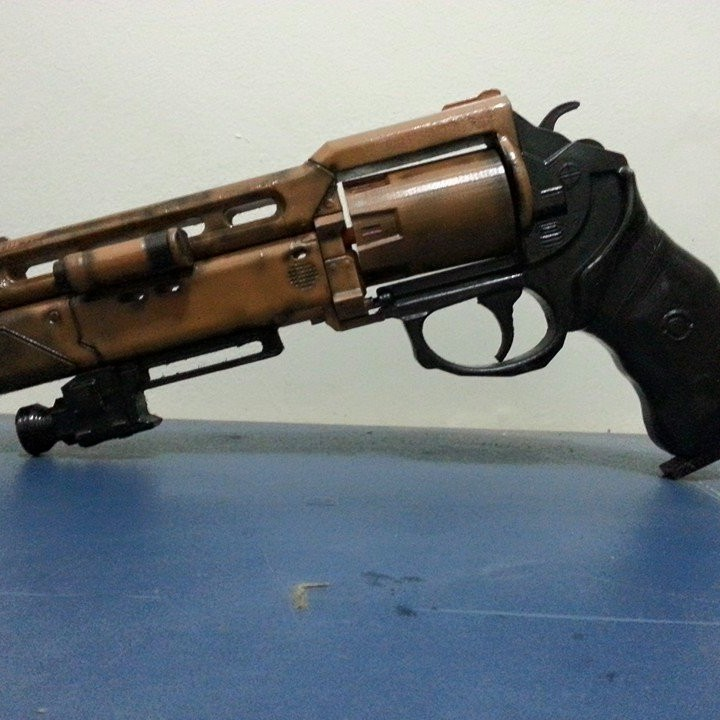 Picture of print of Fatebringer hand cannon from Destiny This print has been uploaded by Eduardo Pereira Martiniano Pimentel