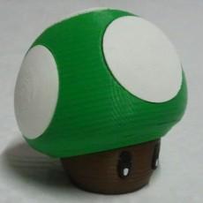 Picture of print of Mushroom of Super Mario Bros.