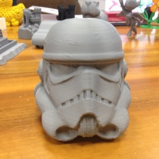 Picture of print of Fully Wearable Star Wars VII Storm Trooper Helmet 这个打印已上传 Marco Andreacchio