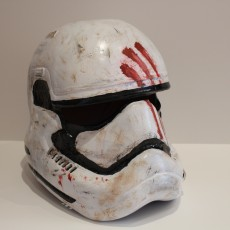 Picture of print of Fully Wearable Star Wars VII Storm Trooper Helmet 这个打印已上传 Saxon Fullwood