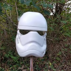 Picture of print of Fully Wearable Star Wars VII Storm Trooper Helmet 这个打印已上传 Lincoln