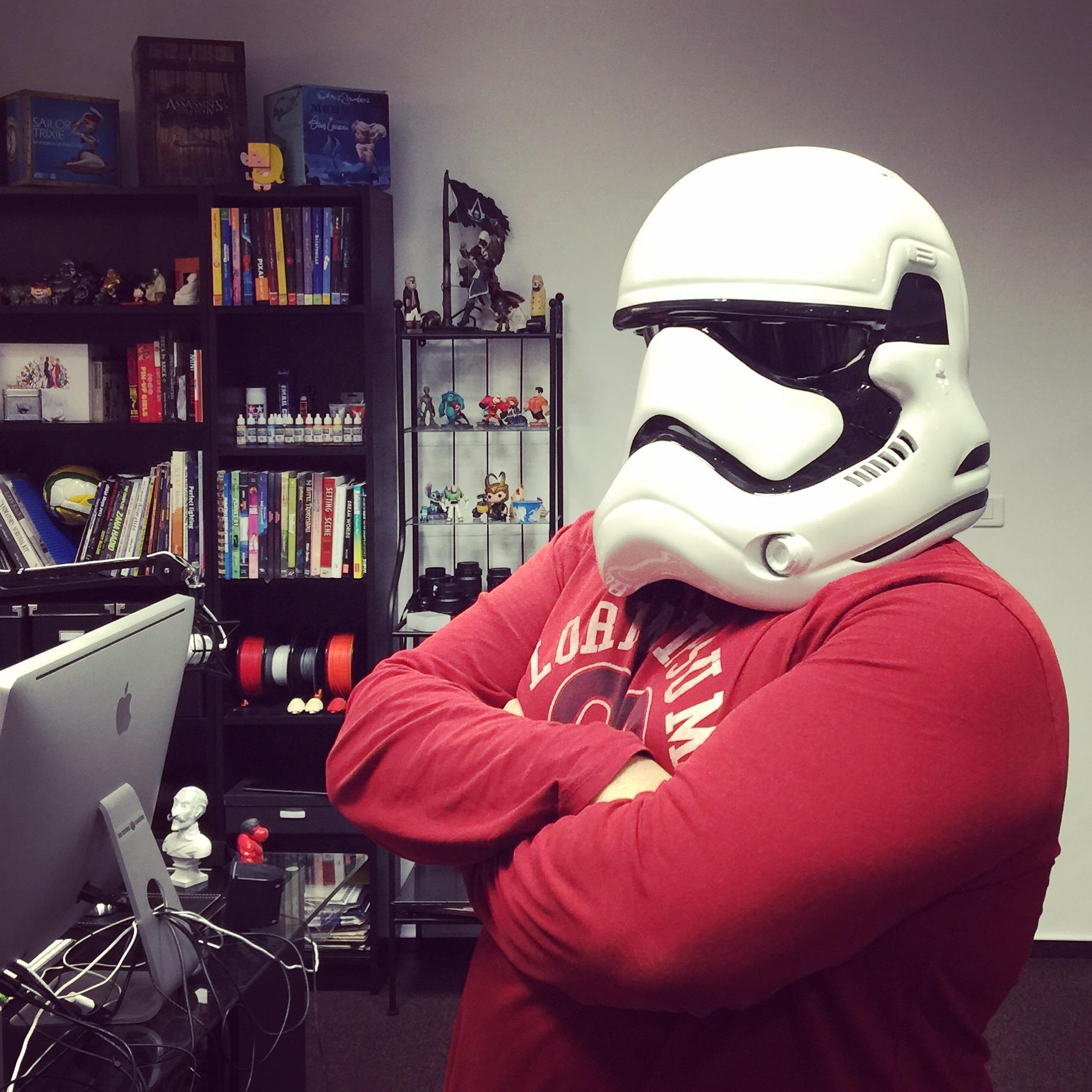 3D Printable Fully Wearable Star Wars VII Storm Trooper