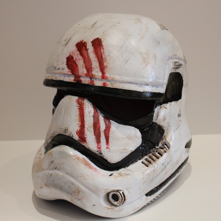 Picture of print of Fully Wearable Star Wars VII Storm Trooper Helmet This print has been uploaded by Saxon Fullwood