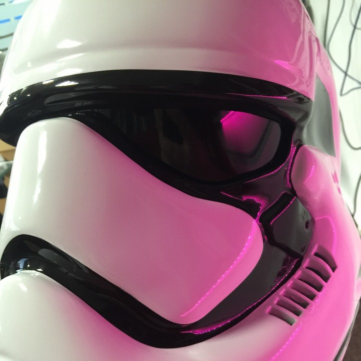 Picture of print of Fully Wearable Star Wars VII Storm Trooper Helmet This print has been uploaded by Oasim Karmieh