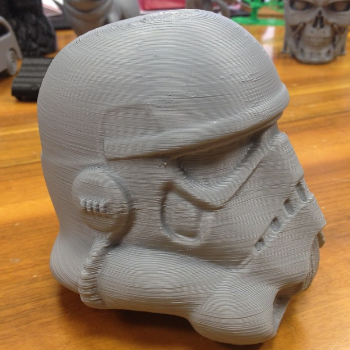Picture of print of Fully Wearable Star Wars VII Storm Trooper Helmet This print has been uploaded by Marco Andreacchio