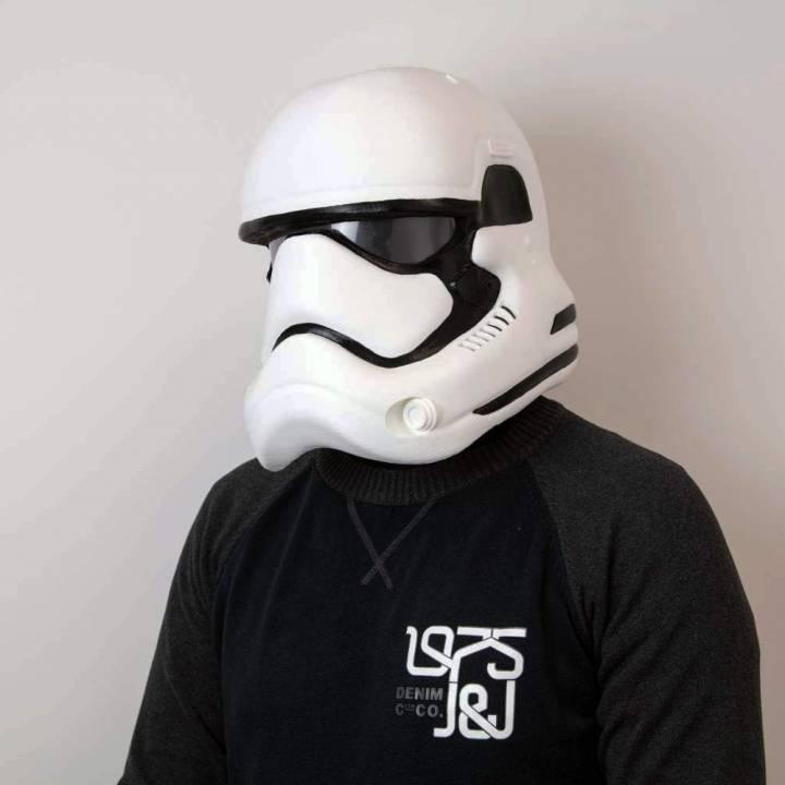Fully Wearable Star Wars VII Storm Trooper Helmet