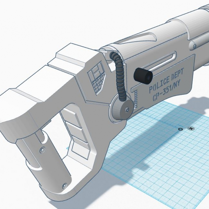 The Fifth Element Police Blaster