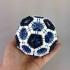 Truncated icosahedron puzzle image