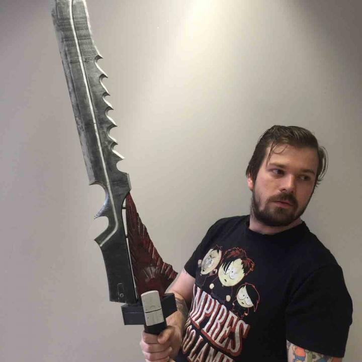 Raze-Lighter Exotic Sword from Destiny