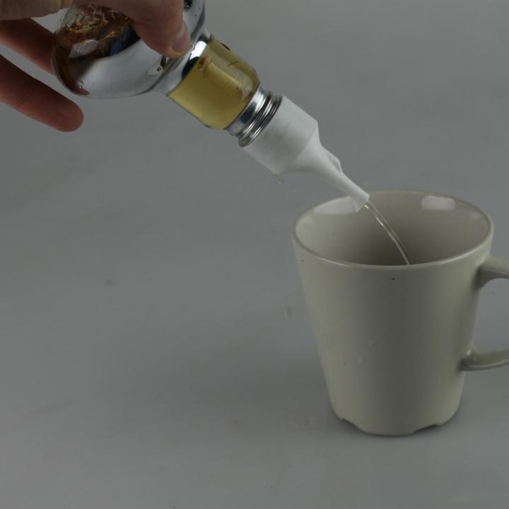 Oil Pourer for Upcycled Lightbulbs