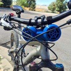 Picture of print of Bike Mount Stereo Speaker (Customizable)