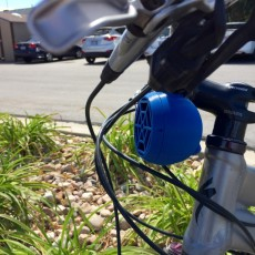 Picture of print of Bike Mount Stereo Speaker (Customizable) This print has been uploaded by Brad Hellyar