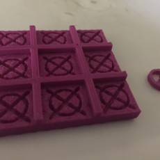 Picture of print of Tic Tac Toe