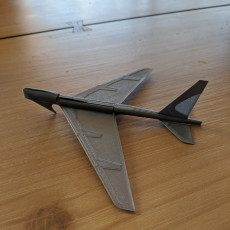 Picture of print of B52 Flying Glider Powered by an Elastic Band