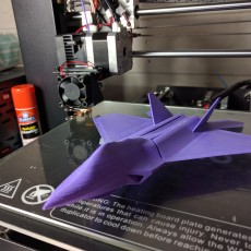 Picture of print of F22 Flying Glider Powered by an Elastic Band Esta impresión fue cargada por Justis Saayman