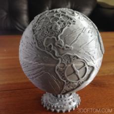Maker Globe / Gear Globe