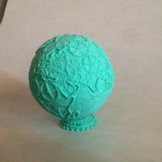 Picture of print of Maker Globe / Gear Globe This print has been uploaded by enrique menendez romero