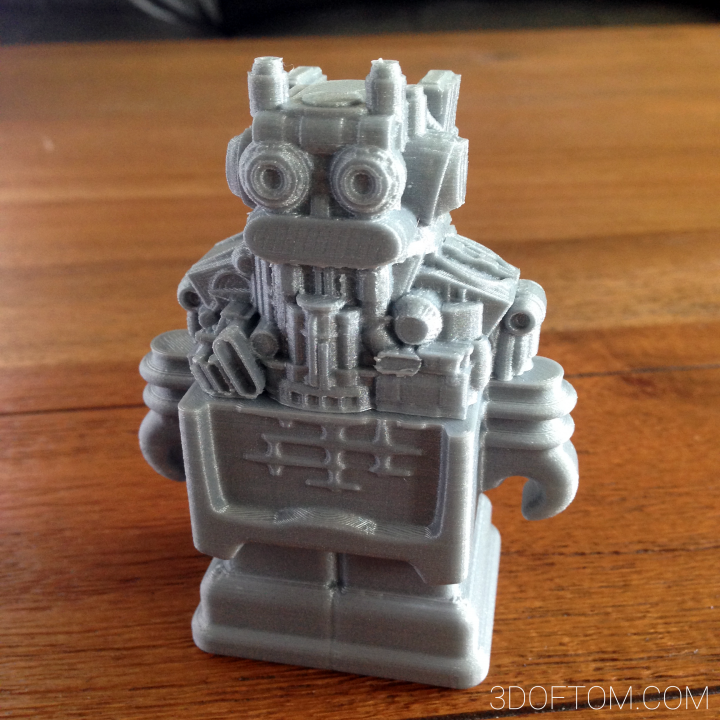 Skinned Ultimaker Robot