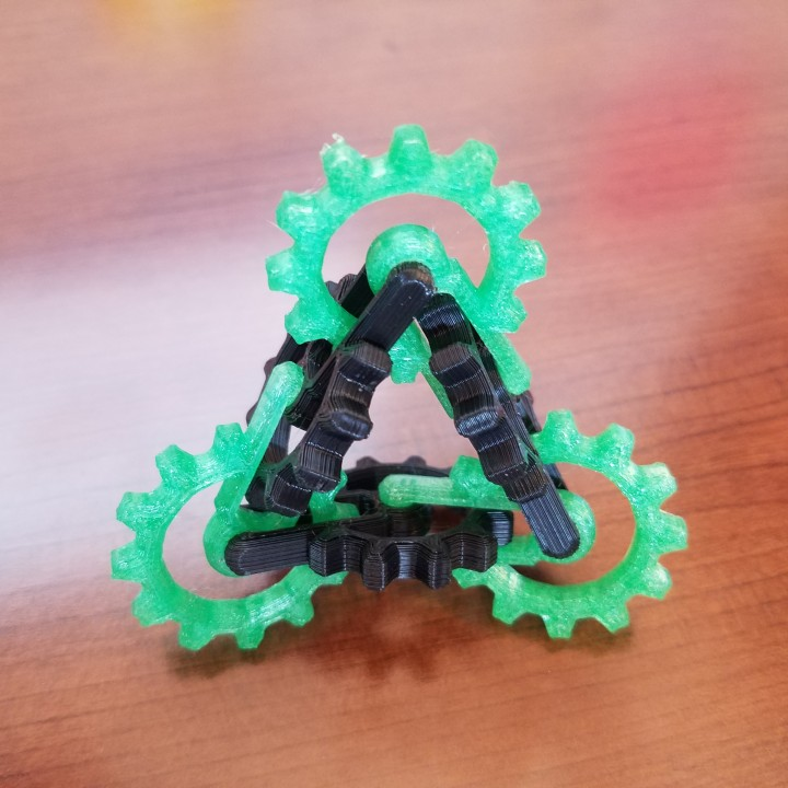 Picture of print of Kinetic Gear Toy This print has been uploaded by Jeff Gould