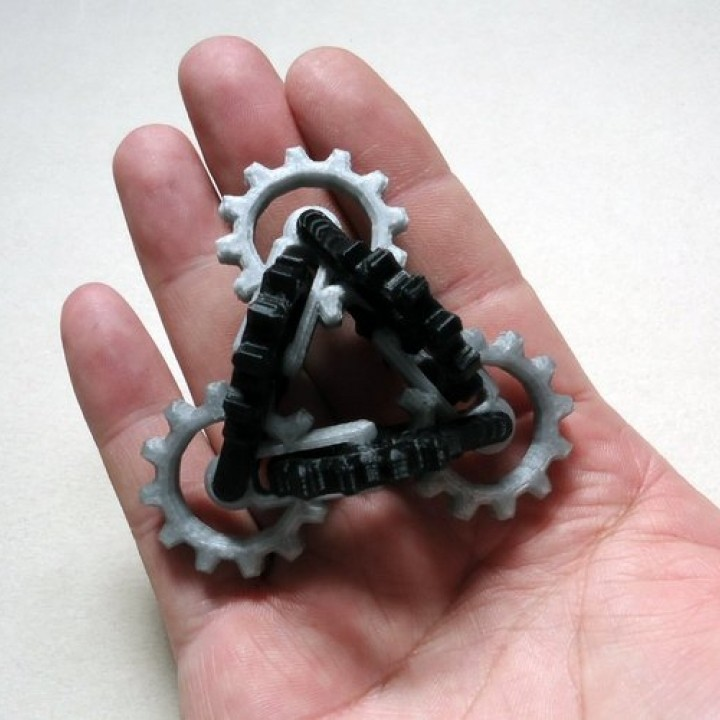 Picture of print of Kinetic Gear Toy This print has been uploaded by Olz
